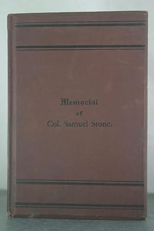 Memorial of Col. Samuel Stone: Barry, Mrs. William