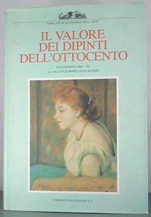 Il Valore dei Dipinti Dell'Ottocento Italiano. VII Edizione (1989/1990).: Marini, ...