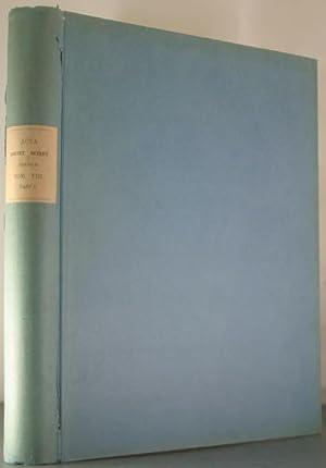 Acta Societatis Scientiarum Fennicae. Tomus VIII.: Maklin, F.W.; Lindelof, L. (et al)