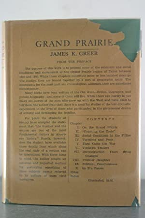 Grand Prairie: Greer, James K.