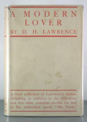 A Modern Lover: Lawrence, D. H.