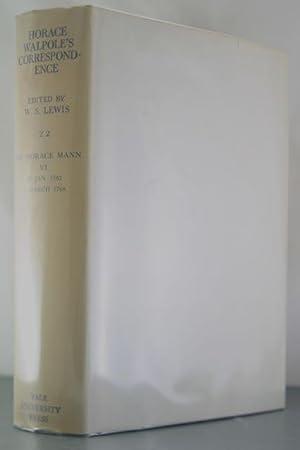 The Yale Edition of Horace Walpole's Correspondence, Volume 22: Horace Walpole's ...