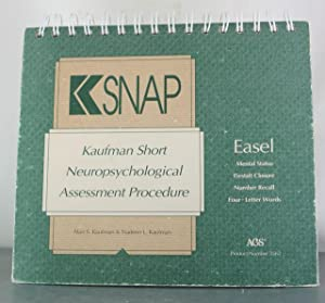 KSNAP: Kaufman Short Neuropsychological Assessment Procedure: Kaufman, Alan S.; Kaufman, Nadeen L.