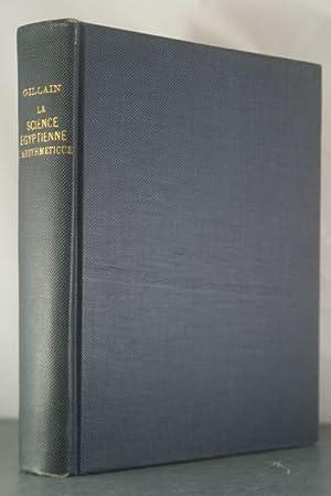 La Science Egyptienne: L'Arithmetique au Moyen Age: Gillain, O.