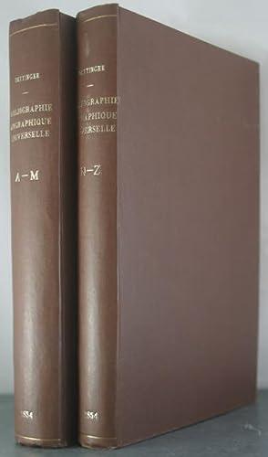 Bibliographie Biographique Universelle Dictionnaire des Ouvrages Relatifs a L'Histoire de la ...