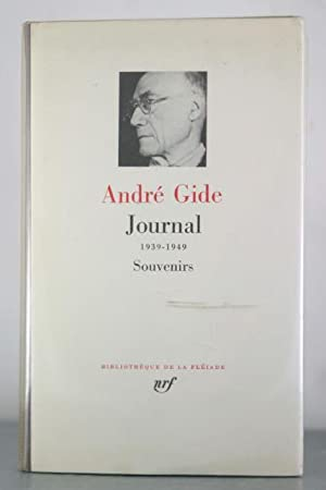 Journal 1939-1949 Souvenirs: Gide, Andre