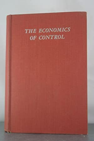 The Economics of Control: Principles of Welfare Economics: Lerner, Abba P.