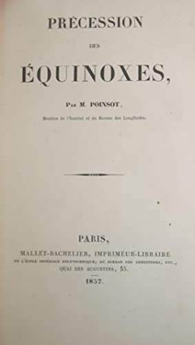 Precession des equinoxes: Poinsot, Louis