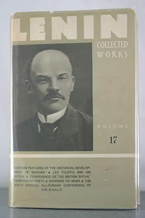 Collected Works, Volume 17: December 1910-April 1912: Lenin, V. I.