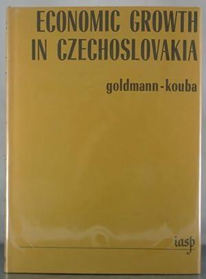 Economic Growth in Czechoslovakia: Goldmann, Josef; Kouba, Karel