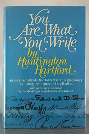 You are What you Write: Hartford, Huntington