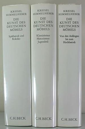 Die Kunst des deutschen Mo?bels: Mo?bel und Verta?felungen des deutschen Sprachraums von den Anfa?...
