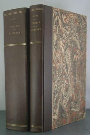 Theorie des Nombres [2 volumes]: Cahen, E.