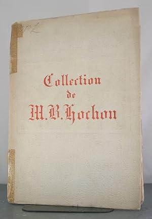 Collection M. Hochon: Catalogue des Objets d'Art et Haute Curiosite: Petit, Galerie Georges