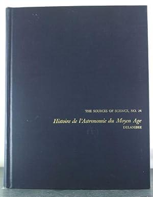 Histoire de l'Astronomie du Moyen Age: Delambre, Jean Baptiste Joseph