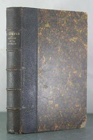 Histoire De La Physique et De La Chimie: Hoefer, Ferdinand