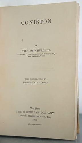 Coniston [Bound in Full Calf]: Churchill, Winston [Bindings]