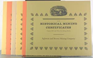 Historical Mining Certificates [Collection of Ten Keepsakes]