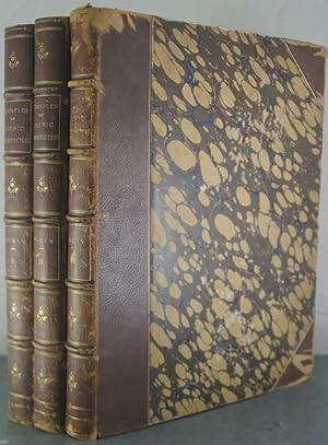 Examples of Gothic Architecture [Three Volumes]: Pugin, Augustus