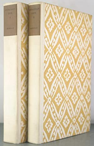 Venetian Life [Large Paper Autograph Edition, Two Volumes]: Howells, William Dean; Garrett, Edmund ...