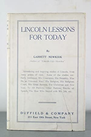 Lincoln Lessons for Today: Newkirk, Garrett