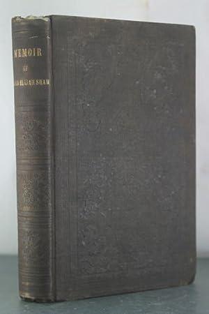 Memoir of Elder Elijah Shaw: Shaw, Letitia J.