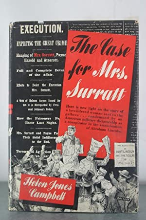 The Case for Mrs. Surratt: Campbell, Helen Jones
