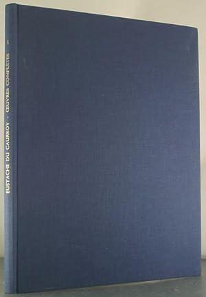 Les Oeuvres Completes de Eustache du Caurroy: Fantasies a 3-6 Parties: Oidoux, Blaise