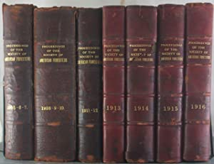 Proceedings of the Society of American Foresters, 1905-1916 [Eleven Volumes in Seven]: Roosevelt, ...