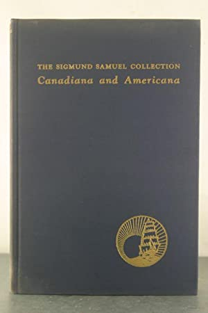 A Catalogue of the Sigmund Samuel Collection Canadiana and Americana.: Jefferyn, Charles