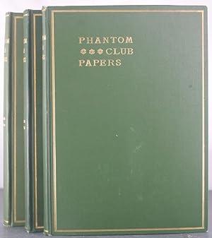 Phantom Club Papers [Three Volumes]: Hazelton, Gerry (et al)