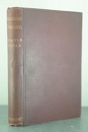 Imaginary Portraits [Vincent Starrett's Copy]: Pater, Walter [Vincent Starrett]