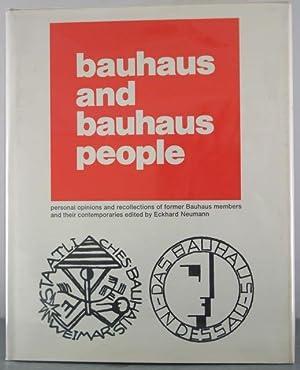 Bauhaus and Bauhaus People: Neumann, Eckhard