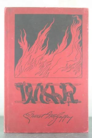 War [Inscribed Copy]: McGaffey, Ernest
