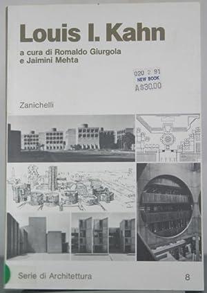 Louis I. Kahn (Serie di Architettura, Volume: Giurgola, Romaldo