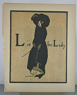 L is for Lady [From Alphabet]: Nicholson, William