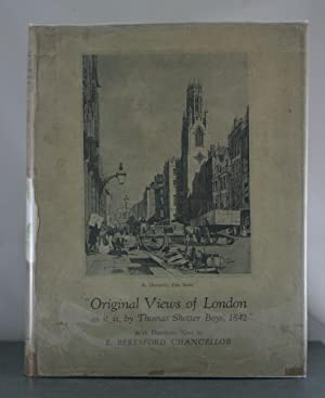Original Views of London As it Is, by Thomas Shotter Boys, 1842: Chancellor, E. Beresford; Boys, ...
