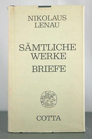S?mtliche Werke - Briefe: Lenau, Nikolaus