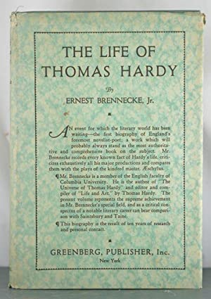 The Life of Thomas Hardy: Ernest Brennecke, Jr.