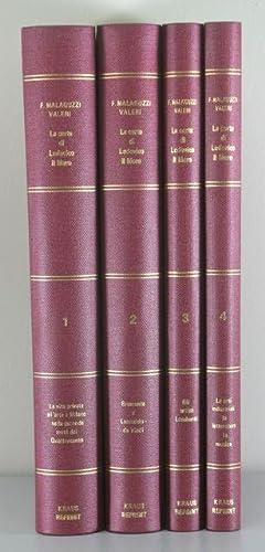La Corte di Lodovico Il Moro (Four Volumes): Valeri, Francesco Malaguzzi