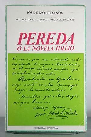 Pereda o La Novela Idilio: Montesinos, Jose