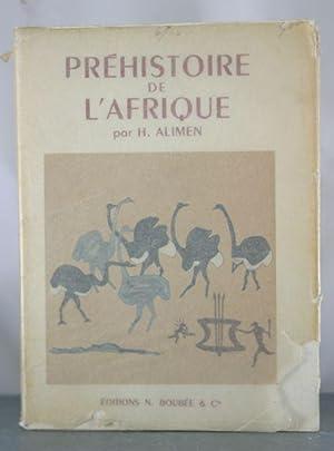 Prehistoire de L'Afrique: Alimen, H.