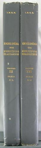 Enciclopedia Dos Municipios Brasileiros: Bahia [Two Volumes]: Pires Ferreira, Jurandyr [Editor]