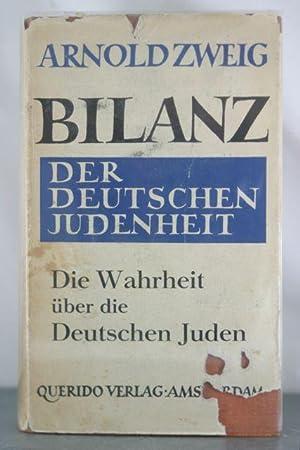 Bilanz der Deutschen Judenheit 1933: Zweig, Arnold