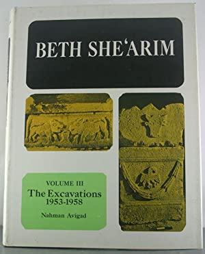 Beth She'Arim Catacombs 12-23 (Volume III): Avigad, Nahman