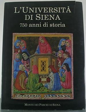 L'UNIVERSITA DI SIENA: 750 ANNI DI STORIA.: Ascheri, Mario et al.