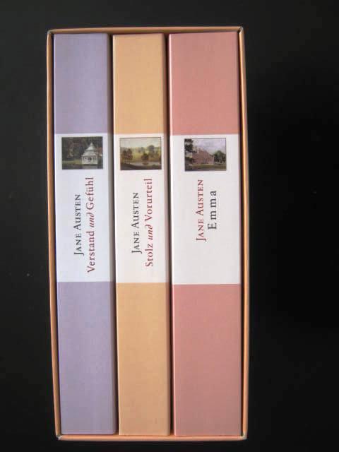 Emma. Stolz und Vorurteil. Verstand und Gefühl.: Austen, Jane.