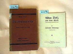 Alban Stolz und seine Werke. Zum hundertsten Geburtstage 3. Februar 1908.: Alban Stolz.