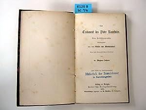 Das Testament des Pater Lacordaire. Eine Selbstbiographie. Aus dem Französischen ü...