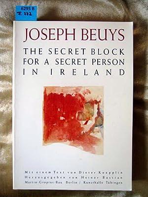 Joseph Beuys - Zeichnungen. The Secret Block: Bastian, Heiner. Hrsg.